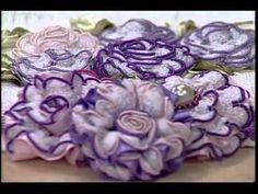 Flores Bordadas com Valéria Soares - Vitrine do Artesanato na TV