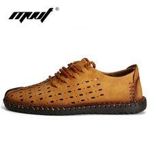 Qualidade sapatos de verão homens apartamentos respirável sapatos feitos à mão dos homens de microfibra macia conforto casual shoes men calçado(China (Mainland))