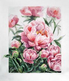 Задумка была нарисовать мнооогооо пионов! Вышло не очень много, зато больших! #art #pink #пионы #sketch #peonies #artwork #flowers #цветы #букет #цветок #цветыакварелью #waterblog #акварель #рисунок #aquarelle #painting #artist #illustration #watercolor #aquarela #watercolorart #watercolorpainting #этюд #process_of_creativity #worldofartists #art_we_inspire #arts_gallery #inspiring_watercolors #kotmyart