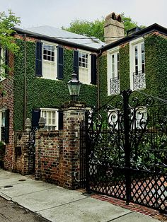 historic Charleston gates