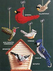 Needlework Plastic Canvas - Plastic Canvas Feathered Friends - #AP87P27