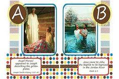 Book of Mormon ABC printable