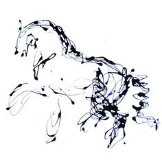 Horse painting, Equine art, equestrian artwork, dressage painting