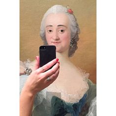 Funny Photos Give the Illusion of Historical Paintings Snapping Selfies - My Modern Met
