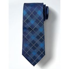 Banana Republic Mens Tartan Silk Nanotex Tie (185 BRL) ❤ liked on Polyvore featuring men's fashion, men's accessories, men's neckwear, ties, blue whale, mens blue ties, mens tartan tie, mens plaid ties, men's silk ties and mens ties