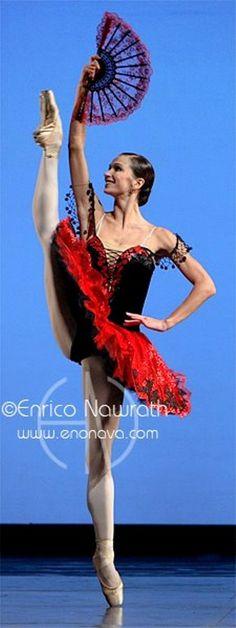 Polina Semionova in Don Quixote. Photo by Enrico Nawrath - Ballet, балет, Ballerina, Балерина, Dancer, Danse, Танцуйте, Dancing