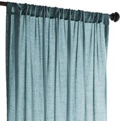 Quinn Sheer Curtain - Teal 84""