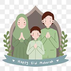 Eid Mubarak Vector, Eid Mubarak Greeting Cards, Happy Eid Mubarak, Eid Mubarak Greetings, Wedding Background, Background Banner, Christmas Background, Islamic Events, Cartoon Sun