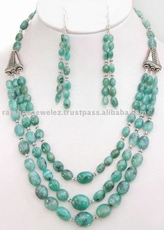 Source Oval Cabochon Emerald Beads Necklace on m.alibaba.com