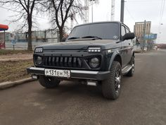 Lada 4x4 Беспилотник