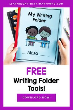 Does it ever feel like your K-2 writers will never be able to write independently? Well, I have good news for you...they can! With the right tools, students can find their own answers to common questions, spell words on their own, and even proofread and edit their own work! This FREE resource will help you build a writing folder where your students can keep all the tools they need to write independently. Writing Folders, Proofreader, Fiction Writing, Good News, Spelling, Writer, Classroom, Student, Teaching