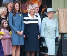 royal family + daffodils