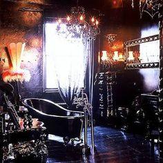 Image result for modern gothic home decor