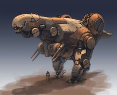dinosaur mech by *ProgV on deviantART