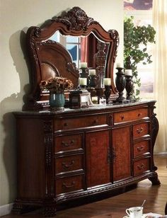 Luxor Cherry Dresser. Luxor Cherry Dresser