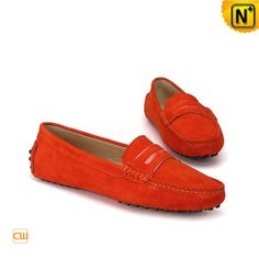 15c199f1488 Suede Moccasin Driving Shoes for Women CW314014