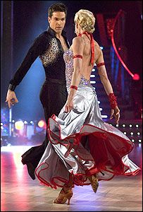 Elegant and filled with fierce emotion, the Paso Doble resembles the foot work and movements of Bull fighting, another Spanish tradition. In this case, the man is the matador and the woman is the r…