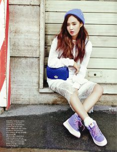 SNSD Yuri and Tiffany - Vogue Girl Magazine February Issue '14