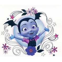 Buy Vampirina Edible Icing Image for Cake Cupcake or Cookie Topper Diy Tattoo, Tattoo Ideas, 3rd Birthday Parties, 2nd Birthday, Birthday Ideas, Cupcakes, Cupcake Cakes, Easter Eggs Kids, Tattoos For Kids
