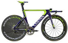 Canyon Speedmax time trial bike, Movistar team bike