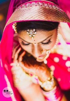 """Photo from album """"Wedding photography"""" posted by photographer Amita & Suraaj Photography Lehenga Wedding, Indian Bridal Fashion, Lehenga Saree, Wedding Preparation, Mehendi, Bridal Style, Wedding Jewelry, Real Weddings, Wedding Photography"""