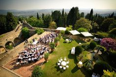 Don't leave your wedding plans up in the air... Check out today's #WheresYourWeddingWednesday from a breathtaking classic venue of Tuscania Events right here in Fiesole! PC📷: Andrea Corsi #weddingseason #aerialview #weddingplanner #tuscanwedding #tuscanviews #fiesolewedding #internationalweddingplanner #castlewedding #firenzewedding