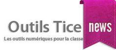 Les Outils Tice. Le nouveau site du réseau les outils du Web. Il est entiérement consacré aux outils du web pour la classe et l'enseignement.