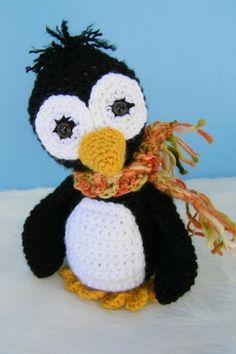 Penguin Crochet Toy Pattern PDF Format pattern on Craftsy.com