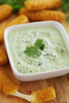 Creamy Cilantro Jalapeño Sauce - Cool, creamy + EASY blender sauce with fresh cilantro and zesty jalapeno! Thecomfortofcooking.com
