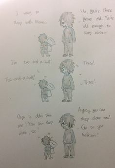 Sasuke really do that... Just like a three years old