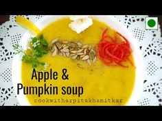 Apple & Pumpkin Soup - YouTube #applepumpkinsoup #soup #soupingredients #soupsofinstagram #soupweather #soupson #soupstocktokyo #vegan #vegetarians #vegstew #soup #soups Veg Stew, Pumpkin Soup, Vitamin E, Mashed Potatoes, Soups, Curry, Cooking Recipes, Vegetarian, Apple