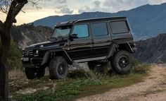Get ready to go off-road with the new 2015 #Mercedes G500 4x4