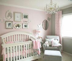 Habitacion-de-bebe-rosa-y-gris