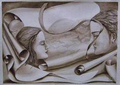 Tinta sobre guarro Greek, Statue, Art, Ink, Illustrations, Art Background, Kunst, Performing Arts, Greece