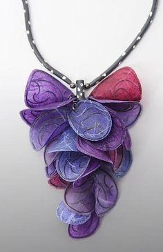 Carol Windsor's paper jewelry