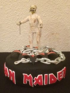 This was my Grooms Cake at my wedding. My new daughters made this cake for me and they did a terrific job! Up the Irons!!