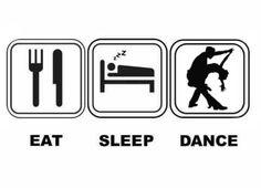 Eat. Sleep. Salsa Dance!