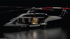 One early buyer calls the helicopter, which looks like a living room that can fly anywhere...