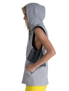 Luxury Women's Activewear   Boyfriend Vest   Style meet Sport   Alala