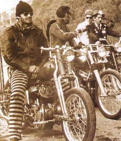 the man cave: Celebrities & Motorcycles