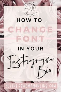 Learn how to change to a different font in your Instagram bio. This free font generator make your profile aesthetic and stand out among others. You will also learn how to style your Instagram with cool text symbols. Head over to BusinessWomanOnline.com for more Instagram tips and tricks. #instagrambioideas #instagrambiocreative #instagrambiofont #instagramfont #instagramfontfree #instagramfontbio #instagramfonts #instagramfontchange #instagramdifferentfont #instagramtips #instagrammarketing Instagram Font, Tips Instagram, Instagram Marketing Tips, Instagram Story Ideas, Photo Instagram, Cool Instagram, Insta Bio, Ig Bio, Cool Text Symbols