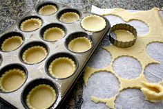 Sugar Cookie Tarts | All you need is a standard size muffin tin, a 3 ...