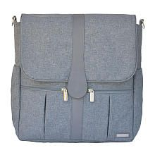 JJ Cole Gray Heather Backpack