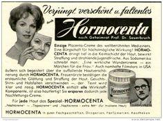 Original-Werbung/ Anzeige 1960 - HORMOCENTA - ca. 75 x 55 mm