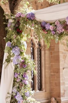 Liliac Flowers for the Decorations of the Ceremony