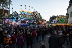 Allerheiligen Kirmes in Soest, Germany