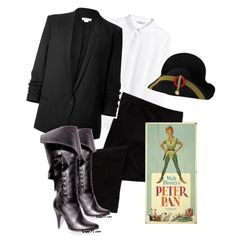 """Captain Hook - Peter Pan"" costume theme by thiszthegirlz on Polyvore"
