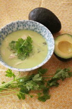 Grain Crazy: Avocado Tom Kha Gai (Thai Coconut Soup)
