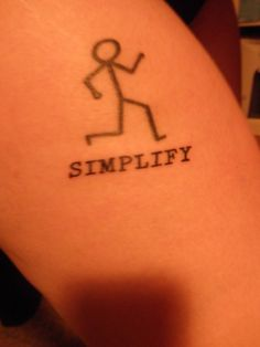 Life is easier when you keep things simple and running is one of the simplest things you can do and one of the most rewarding. I Tattoo, Tattoo Quotes, Triathlon Tattoo, Tatoos, 6 Months, Tattoo Ideas, Inspirational, Ink, Running
