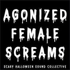 Halloween Sounds, Scary Halloween, Scary Sound Effects, Scary Sounds, Dexter, Scream, Female, Dexter Cattle, Spooky Halloween